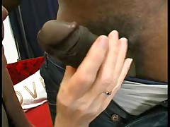 Gaping Anal Granny in Stockings Fucks Three