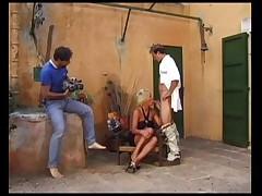 French MILFs anal sex