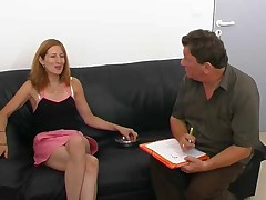 French Amateur Girl Anal Audition