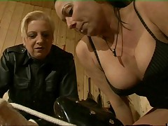 Facesitting slave