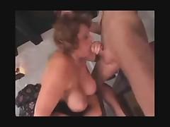 Big Old Lady Needs 2 Cocks