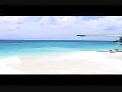 Beach + hydroplane