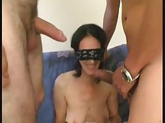French Milf Cassandra threesome