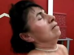 Hairy Granny Hotel maid
