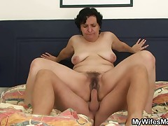 Guy fucking his hot mother-in-law