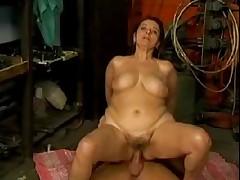 Big tit German mature