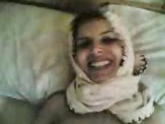Hijab arab girl fucking