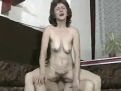 Hairy Granny Suck and Fuck