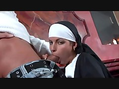 Hot nun hardcore