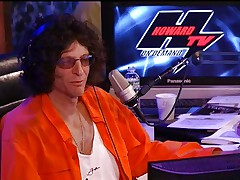 Charlie Laine Sybian Ride on Howard Stern
