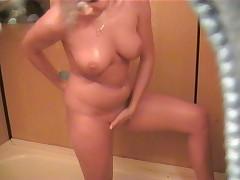 Spy cam in bathroom