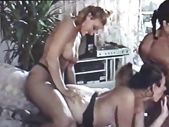 German Housewife Orgy from the 90s