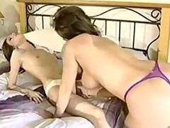 MILF seduces her daughter's friend