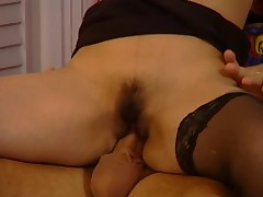 Germa wife gets horny with her son's friend