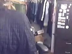 Masterbating on webcam