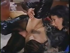 Mature - Debora is Nasty in Latex 3somme