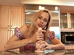 Amateur housewife interview before rough sex