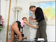 Bad girl and Teacher
