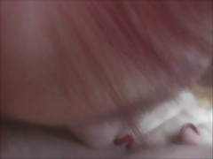 German Redhair Creampie