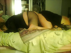 Sharing a Double Headed Dildo