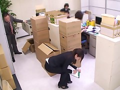Sex in the office scene 2(censored)