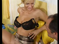 BUSTY GERMAN BLONDE GETTING NAILED