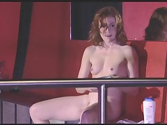 Antje Monning Club scene from ENGEL film.