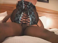 Black Stockings and Black Cock