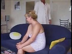 German Chubby Wife And Salesman