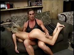 Mutant Nicole Bass Dominates Hottie Kristy Myst