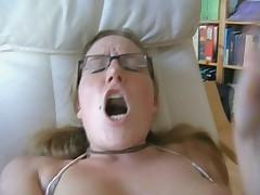 German blonde anal lessons