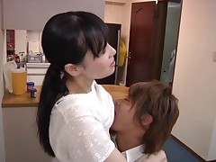 Young wife and young mother-in-law scene 11(censored)