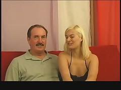 Coach fucks blond slut