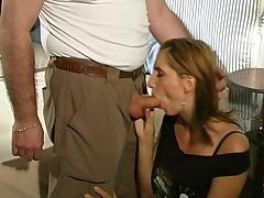 Busty Italian Rossela Conti Enjoys Good Fuck With Older
