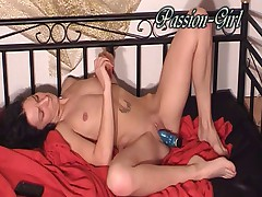 2 Vibros for my Holes - Passion-Girl German Amateur