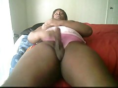 Ebony BBW with big dick