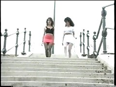 Sluts out walking