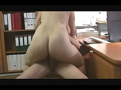 Amateur Couple Fuck In Office