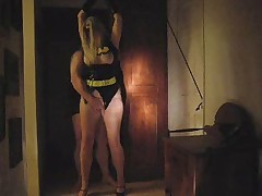 Batgirl trapped