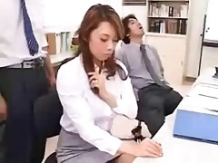 Office Games with one Female Co-Worker by snahbrandy