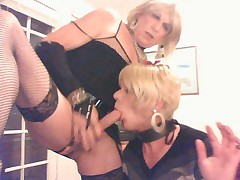 Sissy bitch wendy jane gettin fucked in the mouth