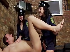 Strapon Police Officers