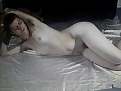 Hairy pussy,ass and armpitts on punk rocker girl
