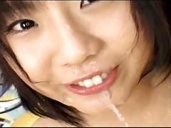 Japan Rina Oki bukkake game
