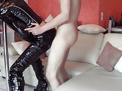 German Latex Bitch (dirty talk)