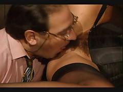 Milly D'Abbraccio's 3some