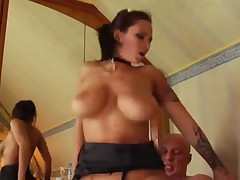 The Hot Maid With Big Natural Boobs Gets Fucked