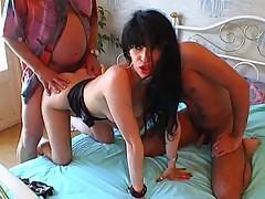 French arab girl Threesome