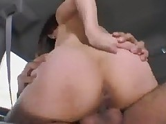 Chubby Japanese In Car And Restroom