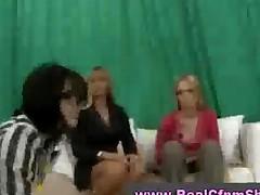 Cfnm Group Sex Blowjob